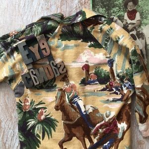 KATHY CARTIER Wild West Upholstery Fabric Coat